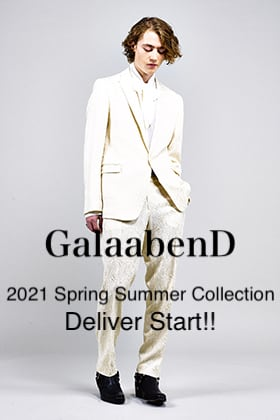 GalaabenD 2021SS Collection Delivery Start!!