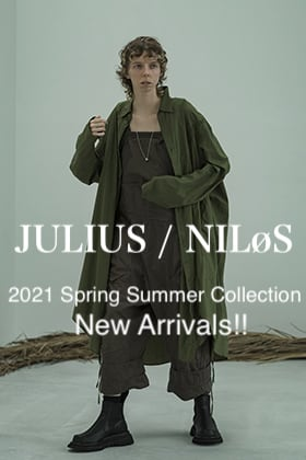 JULIUS - ユリウス & NILøS - ニルズ 2021SS Collection 6 Item New Arrivals!!