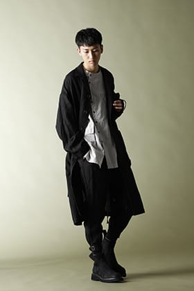 .LOGY Kyoto 21SS The Viridi-anne Linen Broad Coat STYLE!!