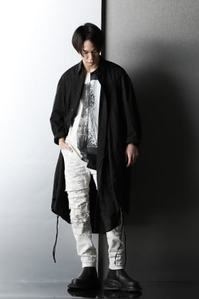 JULIUS 2021SS Collection Monotone Spring Style
