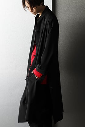 Yohji Yamamoto - ヨウジヤマモト Black × Red coloring Casual styling