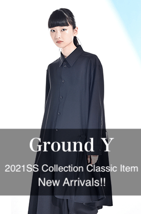 Ground Y 2021SS Collection Classic Item New Arrivals!!