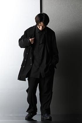 Yohji Yamamoto - ヨウジヤマモト 2021SS Button detail item Spring style