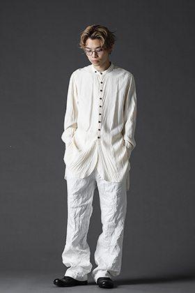 KLASICA(クラシカ) 21SS レーヨン スタンドカラーシャツスタイル