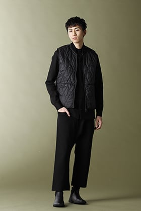 .LOGY Kyoto 21SS NOMEN NESCIO Quilted Vest STYLE!!
