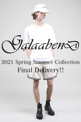 GalaabenD - ガラアーベント 2021SS Collection Final Delivery!!