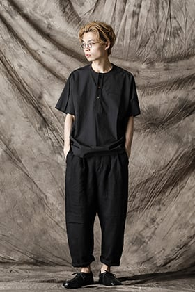 individual sentiments 21SS Henry Neck Shirt Style