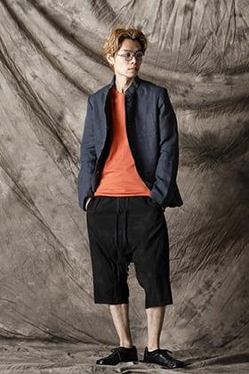 individual sentiments 21SS スタンドカラージャケットスタイル