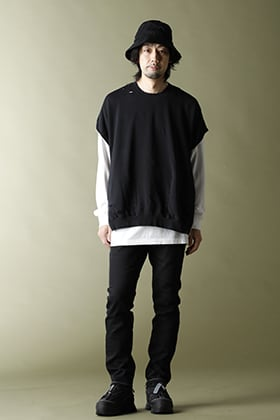 VEIN Vessel Box Sweat shirt layered style!!