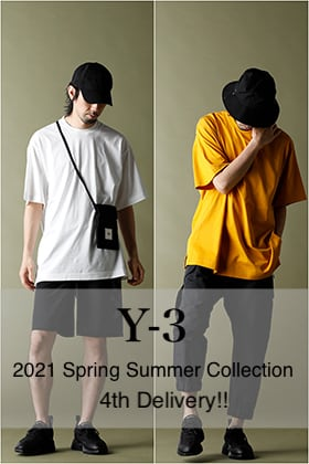 Y-3 2021 Spring Summer 4th Delivery!!