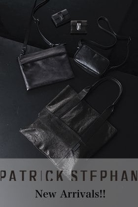 PATRICK STEPHAN Goods Collection New Arrivals!!
