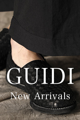 New arrival of GUIDI 21SS collection!