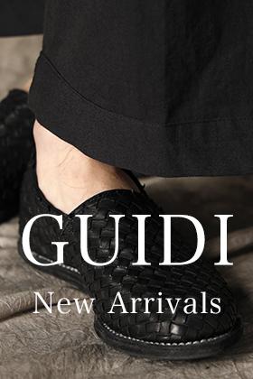 GUIDI(グイディ)  21SSコレクション 新着商品入荷!