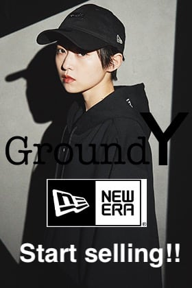 Ground Y × New Era 2021SS Start Selling collaboration item items.