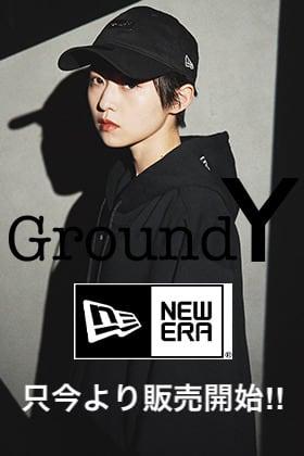 只今よりGround Y - グラウンドワイ × New Era - ニューエラ 2021SSコラボレーションアイテムを販売開始!