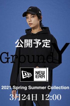Ground Y - グラウンドワイ × New Era - ニューエラ 2021SS(春夏) Collection 3月24日正午12時発売開始!