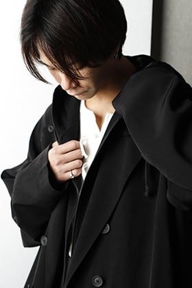 Yohji Yamamoto - ヨウジヤマモト 2021SS Collection Long silhouette Dress item Styling