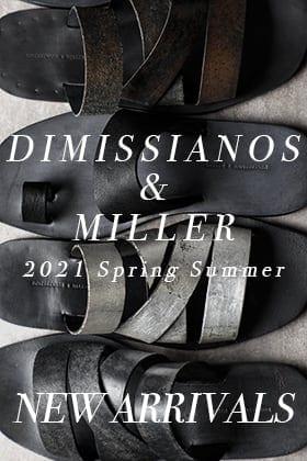 DIMISSIANOS & MILLER(ディミッシアーノ・アンド・ミラー) 21SSの新着商品が入荷しました