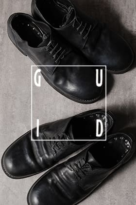 [Staff Column]GUIDI Derby shoes Special ! About 2 typical product.