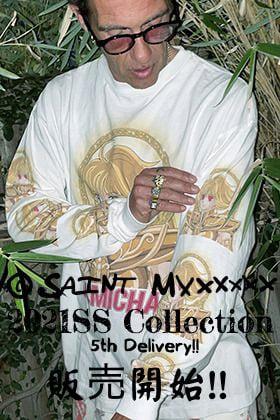 只今より ©️SAINT M×××××× - セントマイケル 2021SS(春夏)コレクション 第5弾目のアイテムの販売開始!!