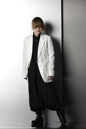 nude:mm -ヌード マサヒコマルヤマ & kujaku - クジャク 21SS リネン モノトーンスタイリング
