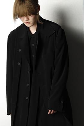 Yohji Yamamoto -21 SS Black Luxury Styling