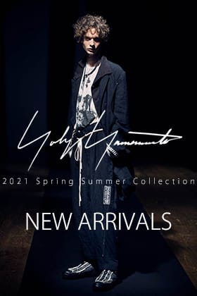 New item from Yohji Yamamoto 21SS is now on sale!