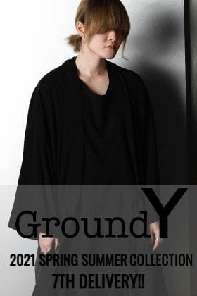 The 7th item from the Ground Y 2021 SS (Spring/Summer) collection is now available!