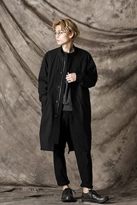 Yamauchi 21SS New Arrivals! Waterproof Mods Coat Style