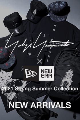 Yohji Yamamoto × NEW ERA 21 SS Collection is now on sale!