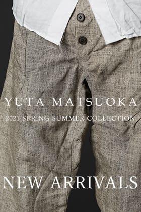 YUTA MATSUOKA(ユウタマツオカ) 21SSの新作が入荷しました。