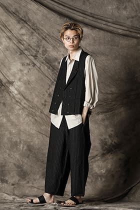 ZIGGY CHEN 21SS Stripe Vest Suits Style