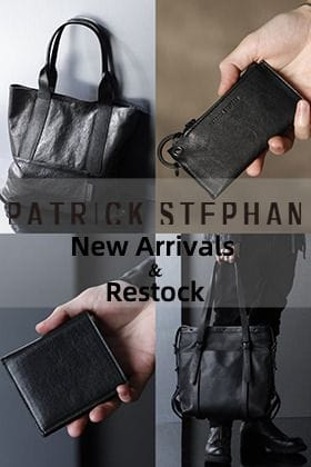 New item and restocked item from PATRICK STEPHAN!!