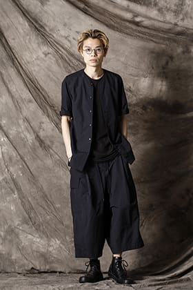DEVOA 21SS shrink cotton nylon styling