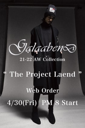 About GalaabenD AW21-22 online pre-order reception.