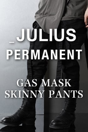JLLIUS PERMANENT GAS MASK SKINNY PANTS Introduction