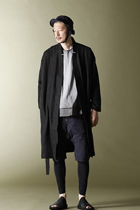Nomen Nescio Belted Robe Moto Shorts Style