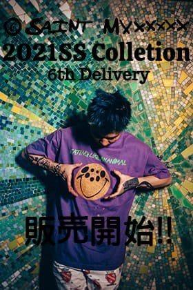 只今より ©️SAINT M×××××× - セントマイケル 21SS 第6弾目を通販・店舗にて同時販売開始!!