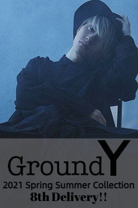 Ground Y 2021SS Collection 8th Delivery!!