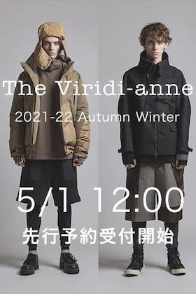 The Viridi-anne(ザヴィリジアン) 21-22AW(秋冬) オンライン予約を5月1日 正午12時から受付開始!