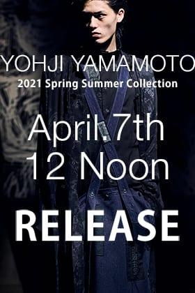 Yohji Yamamoto 21SS Release Notice