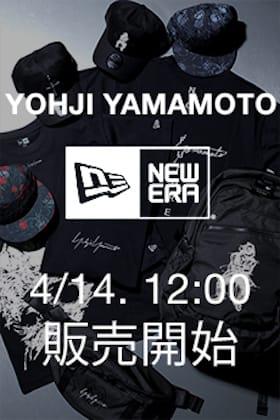 New Era(ニューエラ) × Yohji Yamamoto(ヨウジヤマモト)4月14日(水) 正午12時から販売開始!