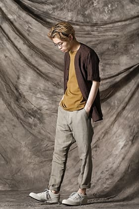 DEVOA 21 SS Earth Color Shirt Style