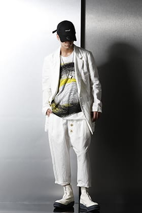 nude:masahiko maruyama Set up style with spring/summer material.