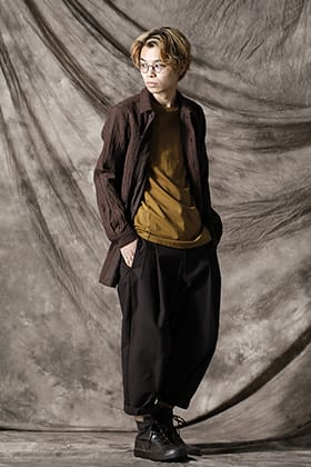 DEVOA Mud Striped Shirt Style