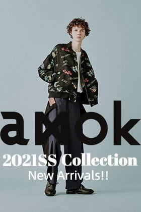 amok - アモク 2021SSコレクションより新作が届きました!