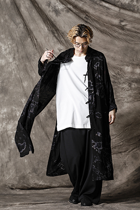 Yohji Yamamoto 21SS チャイナシャツスタイル