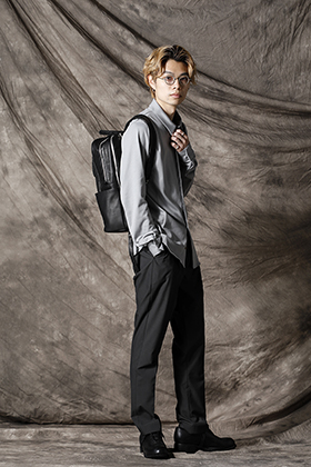 individual sentiments x 山内 21SS Business casual style