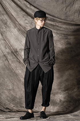 DEVOA 21ss イージーシャツスタイル