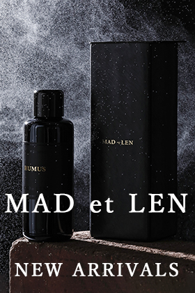 Now in stock is a perfume from MAD et LEN.